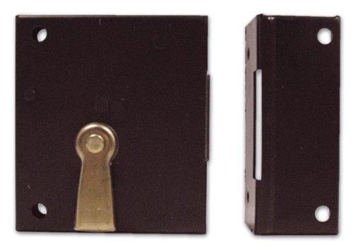 Serratura da Applicare Solo Catenccaio Bonaiti Art. 188 Misura 70 mm Verso Dx