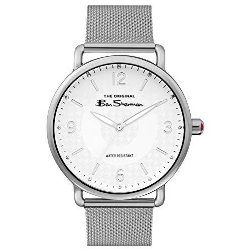 Ben Sherman Hommes Analogique Quartz Montre avec Bracelet en Aluminium BS015SM