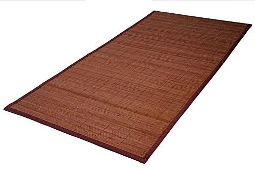 Unbekannt Bambus Teppich 140 x 70 cm