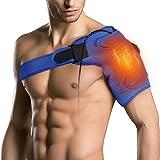 Support d'épaule Chauffant pour Articulation AC, Tendinite, Épaule Dislocation, Soulagement de la Douleur, Support d'épaule pour Hommes et Femmes, l'épaule Gauche ou Droite
