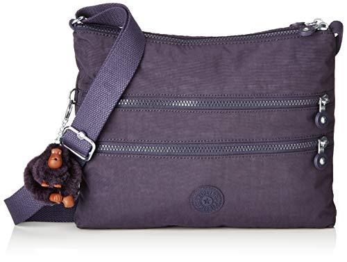 Kipling Alvar, Women's Cross-Body Bag, Purple (Blue Purple), 4.5x33x26 cm (B x H T)