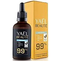 Der SIEGER 2018*: 99% Natürliches Vitamin C & Hyaluron Serum ● Dermaroller geeignet ● Anti-Age & Anti-Falten ● Hochdosiert ● Vegan ● 50ml