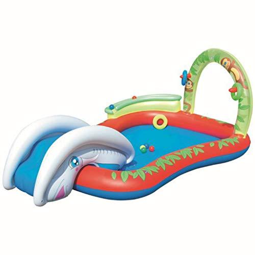 Bouncy Castles Sports Toys Children's Summer Paddling Pool Garden Children's Inflatable Bathtub Children's Inflatable Castle Boy Girl Indoor Pool Children's Inflatable Bathroom