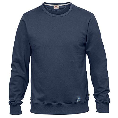 FJALLRAVEN Herren Greenland M Sweatshirt, Dunkelblau, XL