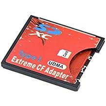 QUMOX SD SDHC SDXC Para CF Tarjeta Compact Flash Memory Lector Adaptador Tipo 1 WIFI ...