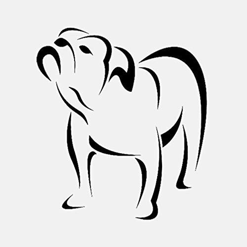 53 * 60CM pro Stück Animal perro Pitbull decoración para habitación (Pitbull Perro)