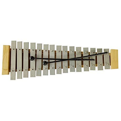 ARFYQ6 Pädagogische Glockenspiel Kit mit Praxis Xylophon 15 Töne Kinder Frühe Bildung Musik Unterricht Aids Kinder können Verschiedene Töne mit 2 Schlägel Spielen