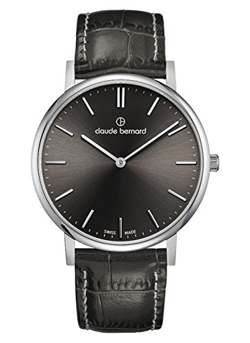 Claude Bernard Classic Slim Line Men's Analogue Quartz Watch 20214 3 GIN
