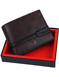 Fur Jaden Brown RFID Blocking Leather Men's Wallet