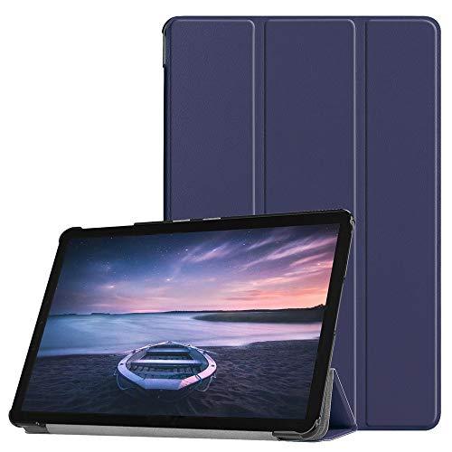 Hülle für Samsung Galaxy Tab S4 T830/T835, Colorful Ultra Slim Lightweight Schutzhülle PU Leder Smart Cover Case mit Auto Wake/Sleep für Samsung Galaxy Tab S4 T830/T835 -Blau (Samsung Galaxy Express 4g)