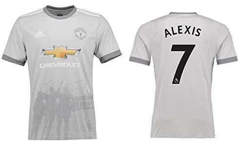 Trikot Herren Manchester United 2017-2018 Third - Alexis 7 (XXL) (Camiseta De Manchester United)