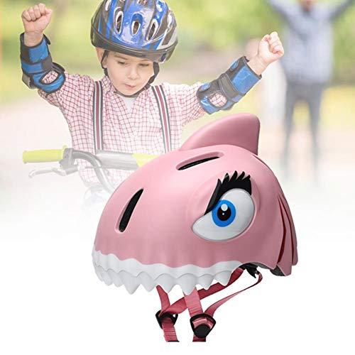 Adminitto88 Caschi Caschi da Bambino Equilibrista Caschi di Sicurezza Regolabile Casco Bici da Ciclismo Caschi da Bici da Corsa Uomo Donna età Youth Racing Protezione Sicurezza Rosa