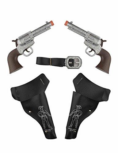 Generique - 2 Pistolas de Vaqueros con Estuche niño