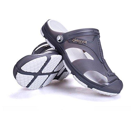 Sandali super morbidi scarpe da ginnastica estate mens traspiranti e non scivolose Grey