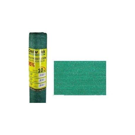 Orework Sichtschutznetz, 95% Grün, 1,5 x 10 m