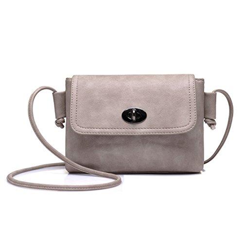 kleiner Handtaschen Damen Schulter Handtaschen Beutel Mappen Beutel Damen Pink beiläufiger LightBrown Damen Quadratischer qI6w8t8
