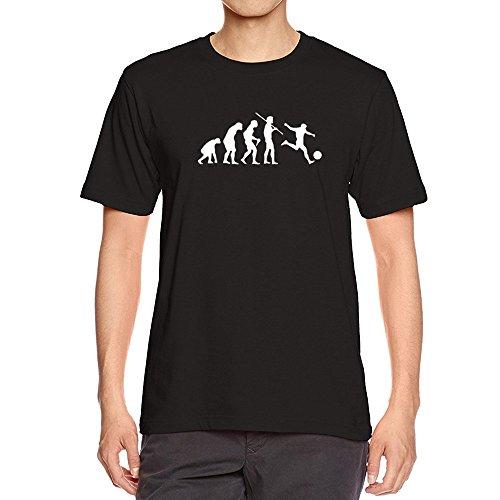 T-Shirts,Honestyi 2018 Herren Kreativ Entwurf Muster Drucken Schwarz T-Shirts mit Rundhalsausschnitt Sweatshirts blusen,hautfreundlicher Baumwolle,weich und luftig,Oversize S-XXXL (S, Schwarz) -