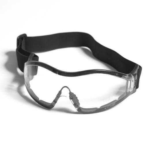 G8DS® Sportbrille PARA in klar und Smoke Softair Schiess- und Outdoorbrille Armee Arbeitsschutzbrille Schutzbrille (Klar)