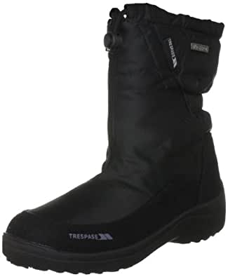 Trespass Women S Lara Black Snow Boot Fafoboe20008 4 Uk