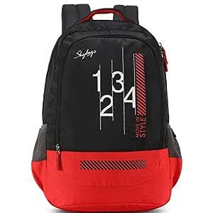 Skybags Luke 01 27 Ltrs Black Casual Backpack (LUKE 01)