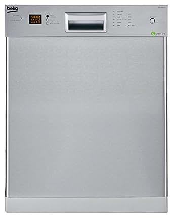 Beko DUN 6634 FX Unterbau Geschirrspüler/ Einbau / A++ / 13 Maßgedecke / 44 db / Edelstahl / BLDC-Gleichstrommotor / Waterstop / 59.8 cm
