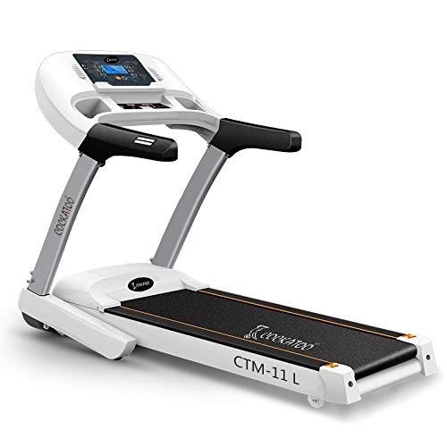 Cockatoo CTM11L 3.5 HP Peak Motorised Treadmill with Manual Incline & Auto Lubrication(Free Installation Assistance)