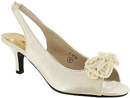 Amazon.co.uk: Kitten Heel - Sandals / Women&39s Shoes: Shoes &amp Bags