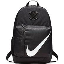 Nike y NK Elmntl Bkpk Mochila, Unisex Niños, Negro / (Black / White), MISC