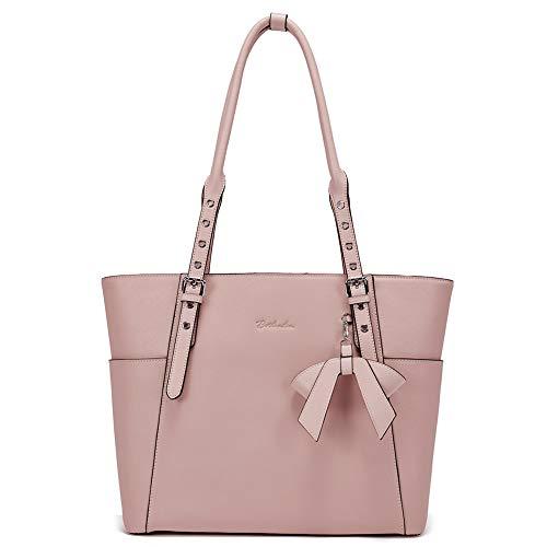 Damen-designer-laptop-tasche Tote (BOSTANTEN Leder Businesstasche Damen Handtaschen Schultertasche Umhängetasche 15.6