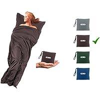 Hüttenschlafsack Inlett aus Mikrofaser Rechteckform ideal für Hotel City-Reise