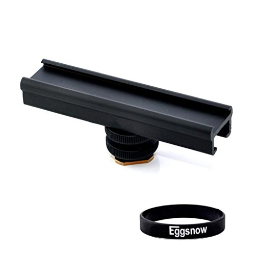 eggsnow-easyhood-cold-shoe-extension-mount-4-inches-adjustable-metal-black