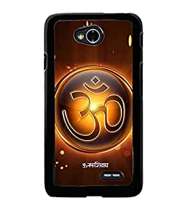 Fiobs Designer Back Case Cover for LG L70 :: LG L70 Dual (God Bhagvan Temple Dress Sports Typography Spritual)