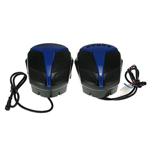 "AOVEISE Altavoz Poder Más Elevado, 4"" Alta Potencia Doble TF / USB / BT Audio Player Estéreo Sistema para ATV UTV Food-venta Vehículos"