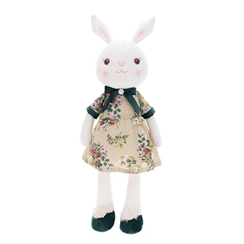 Enjocho H Toy 35Cm Stuffed H Animal Dolls Lovely Cute Rabbit Toys Easter Decor Gift 13.8 inches D