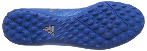 adidas Messi 16.4 Tf, Scarpe da Calcio Uomo Blu (Shock Blue/matte Silver/core Black)
