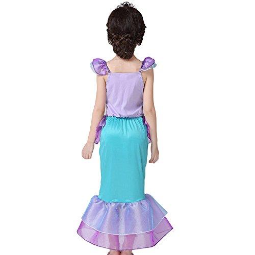 Imagen de pepeng  disfraz de sirena para niña pequeña, color morado alternativa