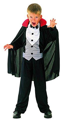 EL CARNAVAL Disfraz Conde Dracula Talla de 6 a 8 años