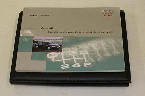 Audi A8 D2 Handbook + wallet 98 to 01