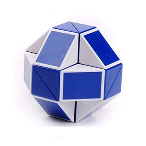 CYCLONE BOYS Magic Speed Cube Puzzle para Regalo Serpiente Magic Baby Girl Boy Juego Transformable Puzzle Regalo de cumpleaños Puzzle Twist Toy para Kinder