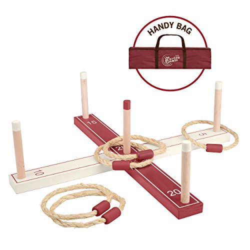 �Holz Ring Toss Set ()