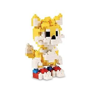 Briques Pixel Sonic le Hérisson Tails