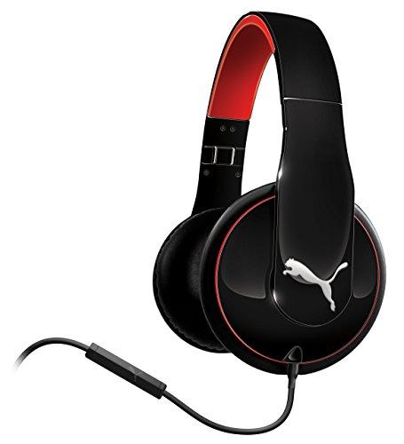 Puma Vortice Headset Over-Ear und Mikrofone schwarz