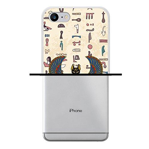 iPhone 7 Hülle, WoowCase Handyhülle Silikon für [ iPhone 7 ] Weisse Schokolade und Waffel Handytasche Handy Cover Case Schutzhülle Flexible TPU - Transparent Housse Gel iPhone 7 Transparent D0131