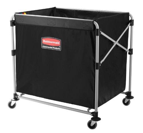 Rubbermaid Commercial X-Cart Folding Cart Frame 300L - Grey