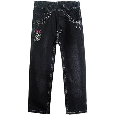 Mädchen Kinder Girls Jeans Hose Röhre Super Skinny Fit Stretch