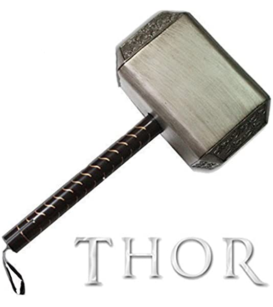 Le marteau de Thor Mjölnir Movie Marvel The Avengers 1:1 Scale
