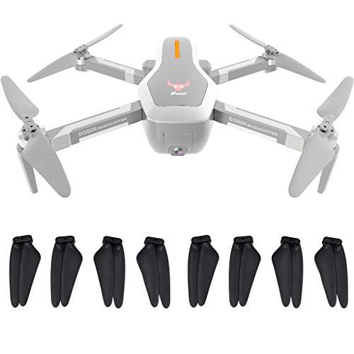 8X HéLice, Chshe TM, Accesorios para Drones Repuestos HéLice Del Paquete De Choque para Sg906 Gps Rc Drone