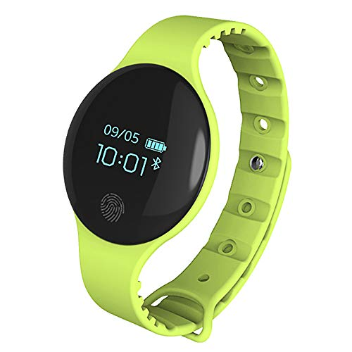 Gywttg Bluetooth Smart Watch, Sport Armband Schrittzähler Kamera Tracker Armbanduhr,Green - Apple Pro Training-bewegung