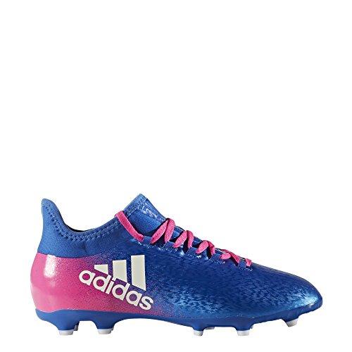 adidas Jungen X 16.1 Fg J Fußballschuhe bleu/blanc/rose