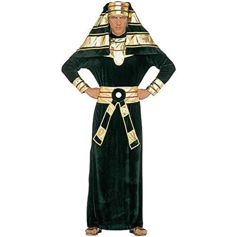 Widman - Disfraz de faraón egipcio antiguo para hombre, talla 50 (32652)